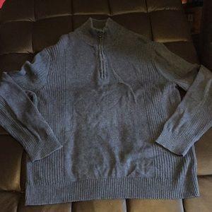 Calvin Klein half zip sweater